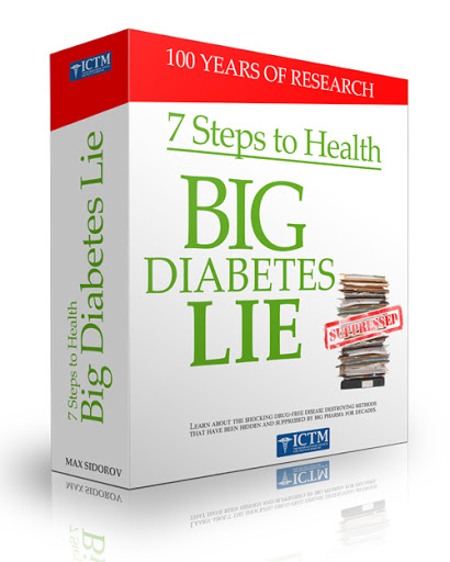 7 Steps to Health and the Big Diabetes Lie Book