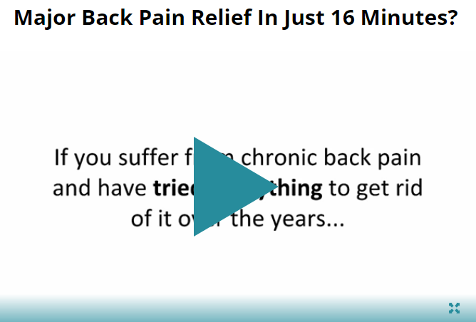 Back Pain Relief 4 Life Reviews