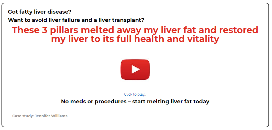 The Non-Alcoholic Fatty Liver Disease Solution Julissa Clay